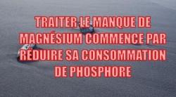 Manque de magnésium et phosphore