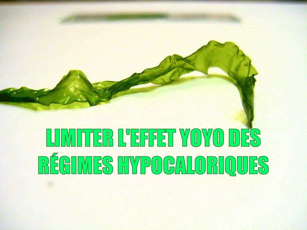 Le régime hypocalorique – Limiter l'effet yoyo
